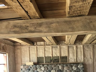 Wood Post and Beam Restoration project